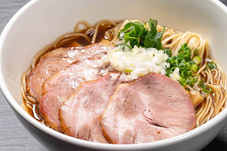 焼豚そば(白醤油/黒醤油/朱醤油)